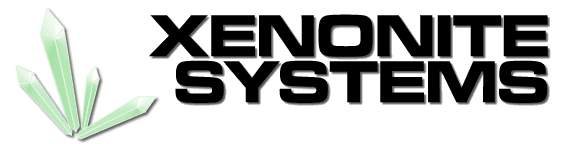 Xenonite Systems Retina Logo